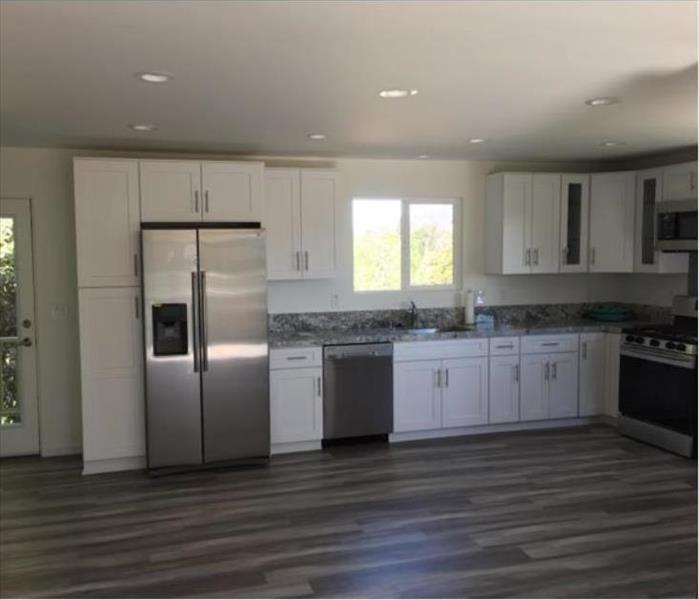 Rebuild of a Fire Damaged Kitchen in Highland Park After