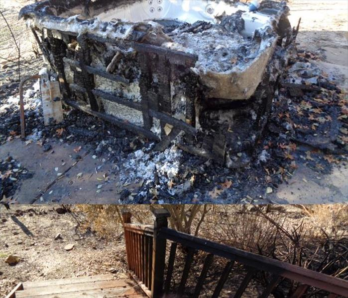 SERVPRO Responds Quickly to Northern California Fire Damage