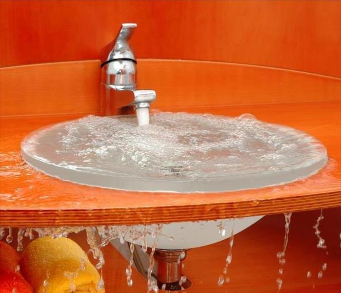 Water Damage The Dangers of a Sink Overflow in Your Echo Park Home